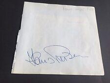HANS REIGER signed signiert Albumausschnitt 15x16