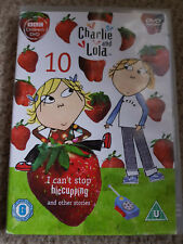 Charlie and Lola I cant stop hiccuping DVD and Fast and Free UK Shipping