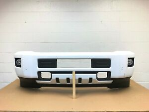 2015-2019 chevy silverado 2500-3500 front bumper with sensors (summit white) #25