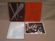 "3 1953, 1954 & 1955 Buffalo Bible Institute Yearbooks w/ 8""x10"" Choir Photograph"