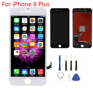 For Apple iPhone 8 Plus Screen Replacement LCD Display Touch Digitizer + Tools