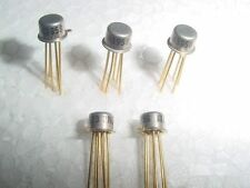 2N3958 Monolithic N-Channel JFET Dual Transistor -- Metal Can Gold Plated Pins