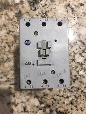 Allen Bradley 100-C85D00 Contactor With 120VAC Coil 3 Pole Used CSQ