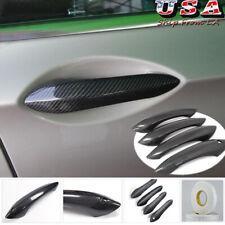 100% Carbon Fiber Exterior Door Handle Cover Trim for BMW F10 520i 535i GT M5 M6