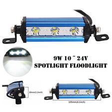 Ultrathin Single Row CREE LED Spot Work Light Bar Off-Road 6000K Waterproof Lamp