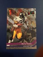 1992 Wild Card # SS-24 BARRY FOSTER Stat Smashers Pittsburgh Steelers Insert