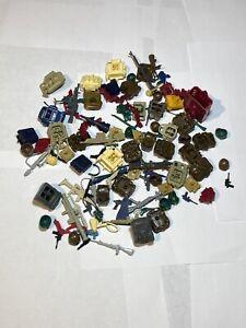 Gi Joe Accessory Pack Lot Around 100 Pieces Original