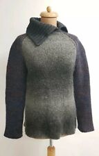 D&G Dolce Gabbana Knit Grobstrick Woll Pulli Roll Pullover Schurwolle Sweater