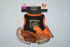 New Mommy's Little Pumpkin Halloween S M L Dog Cat Pet Dress Tutu FREE S/H! BCR