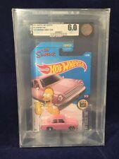 2017 Simpson's Family Car Hot Wheels GRADED 6.0 HW Screen Time9/10 DieCastGrader