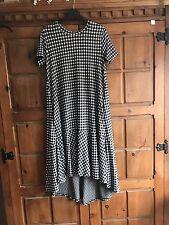 Zara Size S / 10/12 Mid Length Gingham Dress