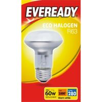 Eveready Eco R63 Clear E27 Es Boxed, 48w