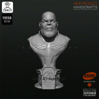 Thanos Unpainted Bust Resin Kits Figure GK Unassembled 5cm