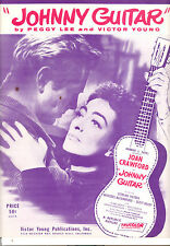 Johnny Guitar Spartito Joan Crawford Sterling Hayden Peggy Lee Cult Classico