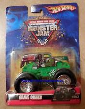 2007 Hot Wheels Monster Jam #20 Grave Digger Chrome Silver 1:64 Truck Retired