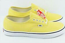 Vans Authentic Mens Size 13 Dusky Citron True White Skate Shoes
