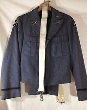 Vtg RMA Band Military Academy Uniform Coat Pants Patches  Belts Pins Heavy Wool
