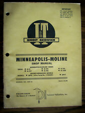 Mm Minneapolis Moline Gvi G705 G706 G707 G708 G1000 Mf 95 Mf97 Service Manual