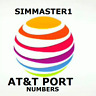 At&t Port Numbers | ATT Numbers To / For Port | Any Area Code | Bulk Discounts |
