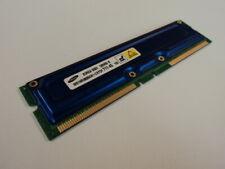 Samsung RAM Memory Module 128MB PC700 RDRAM RIMM non-ECC MR16R0828AN1-CK7DF