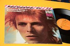 "DAVID BOWIE 12"" SPACE ODDITY ORIG GERMANY 1980 EX"