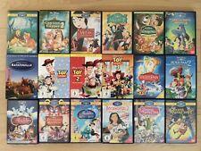 DVD Sammlung, 22 DVDs, Zeichentrick, Konvolut, Walt Disney & Pixar, Kinderfilme