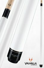Valhalla by Viking 2 Piece Pool Cue with case - White - Lifetime Warranty!