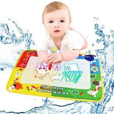 Kids Water Scrawl Toys Mat Drawing Painting for Baby Toddler Gifts UK +Magic Pen
