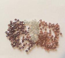 Approx 140 Swarovski Crystal 5328 Bicone 3mm Beads, Pinks