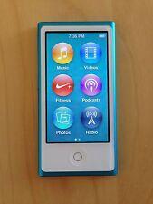 Apple iPod nano 7th Generation Blue (16 Gb) (Latest Model)