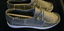 NEW Womens YellowBox® Washed Canvas Loafers Shoes-Olive Sz 9.5 ❄FREE SHIPPING!😱