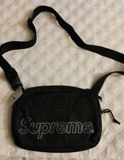 SUPREME SHOULDER BAG COLOR: BLACK (FW18)