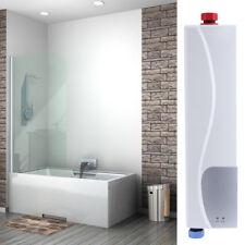 Elektrische Tankless Sofortige Warmwasserbereiter Dusche Küche Bad 3000W CU