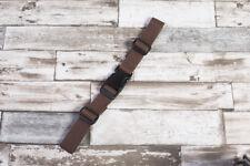 Brustgurt für Schulranzen, 25 mm Rucksack, neu. braun
