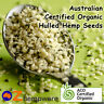 HEMP SEEDS HULLED AUSTRALIAN CERTIFIED ORGANIC VEGAN FRESH 250g,1kg,2kg,4kg,10kg