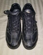 Mens NIKE Sport Performance 314909 Black Leather Golf Shoes SIZE 9,M EUR 42.5