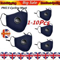 10X Dust Cover Respirator Anti-pollution Anti-smog PM2.5 Washable Reusable Blue