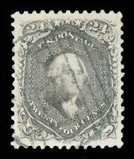 momen: US Stamps #78a USED FAULT-FREE SUPERB JUMBO PSE CERT