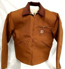Carhartt J001 Detroit Jacket  BROWN SMALL (34-36) [CBX#15-J001]  READY TO SHIP