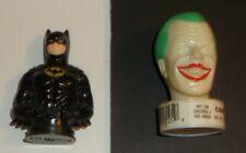VINTAGE 1989 BATMAN AND JOKER DC COMICS TOPPS CANDY ORIGINAL LABELS RARE