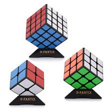 D-FantiX Yj Speed Cube Bundle Set of Guanpo 2x2 Guanlong 3x3 Guansu 4x4 Magic Cu