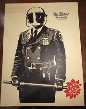 SHEPARD FAIREY - MY FLORIST IS A DICK - SIGNED & NUMBERED - 18 - 24""