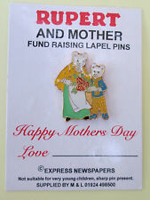 RUPERT POLICE CHARITY PIN BADGE - MOTHERS DAY  - LIMITED EDITION