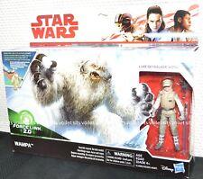 """Hasbro Star Wars The Last Jedi Series 3.75"""" Figures Luke Skywalker & Wampa"""
