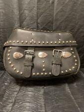 OEM Harley Davidson Heritage Softail Leather Saddle Bag Saddlebag Black Used
