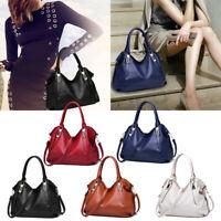 Fashion Women's Ladies Tote Purses Handbags Cross Body Shoulder Soft Bag