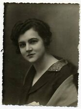 1930s Woman Fashion Russian antique photo