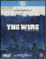 THE WIRE COMPLETE SERIES 1-4 Blu-ray Boxset Seasons 1 2 3 4 Original UK R2