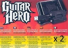 Kit Batterie Rechargeable Pour Guitar Hero Xbox 360 / Ps3/Ps2 NEUF