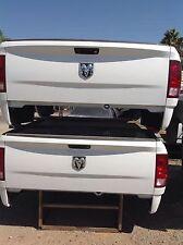 "09-18 Dodge Ram Tailgate white OEM ""TAKEOFFS"" Complete"